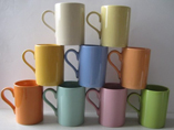 Glossy Ceramic Mugs With Your Branded Logo For Sale