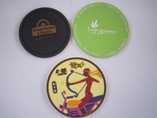 High Quality Soft PVC Coaster