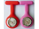 Promotional Lovely Spoon Shape Silicone FOB Nurse Watch