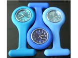 Silicone Pocket FOB Nurse Pin Watch