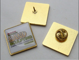 Square Metal Badges