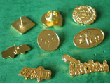 Brass Stamping Metal Badges