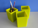 Silicone Square Pen Holders