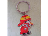 Cartoon Character Design Metal Key Ring