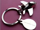 Creative Plane Metal Key Chain
