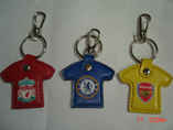 Promotional Clothes Shape Leather Keyring