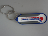 Double Sided Soft PVC Keychain