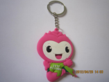 Cartoon Design Mascot Soft PVC Keychain