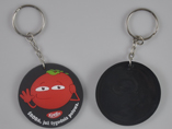 Soft PVC Keychain With Logo