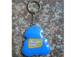 Customized PVC Mobile Phone Cleaner Keychain