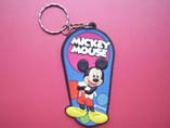 Mickey Mouse Design Soft PVC Keyring
