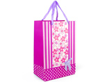 Bespoke Paper Gift Bag With Ribbon Handle