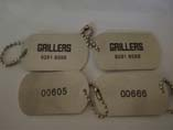 Printed Military Dog ID Tag