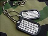 Stamping Metal Dog Tag For Souvenir