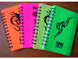 Softcover Notebook With Spiral Winding For Student