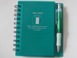 PP Cover Spiral Notebook With Ball Pen