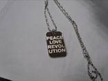 Custom Zinc Alloy Dog Tag With Classy Bead Chain