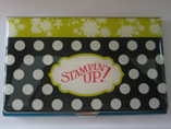 Fashion Name Card Holder With Epoxy Sticker Logo