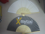 Promotional Fold Up Bamboo Hand Fan