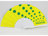 Personalized Plastic Paper Hand Fan