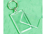 Clear Plastic Acrylic Keyrings For Promotion