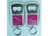 Customized Acrylic Key Chain With Bottle Opener