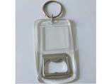 Advertising Acrylic Bottle Opener Keyring