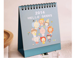 Cartoon Design Paper Gift Desk Calendar