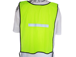 100% Polyester Mesh Reflective Vest For Safety