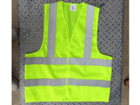 Fluorescent Yellow M2 Mesh Fabric Reflective Vest