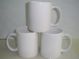 Cheap White Ceramic Tea/Coffee Mugs