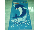 Promotional Microfiber Cartoon Printed Beach Towel