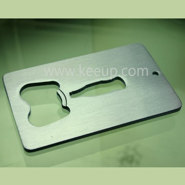 Customize Credit card bottle opener