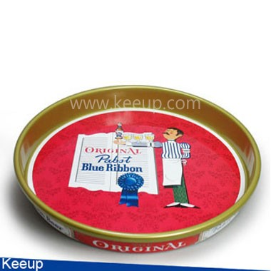 Advertising Round Tin Tray
