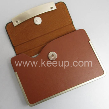 Corporate Gift High Quality Leather Credit Card Holder