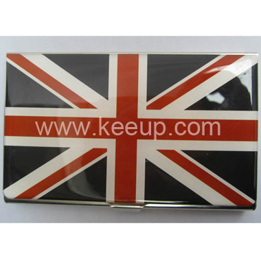 Exquisite Doming Logo Name Card Case For Promotion
