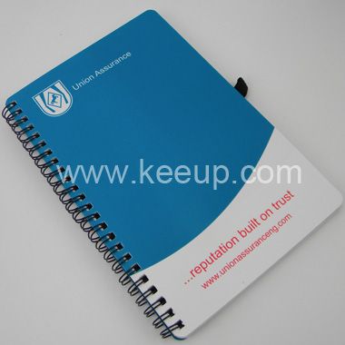 China Wholesale Spiral Binding Diary Notebook