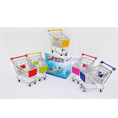 Customized shopping cart pen holders