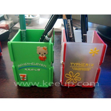 Fashion Cube Pen Container