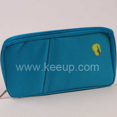 600D Polyester Multifunction Stationery Case With Compartments