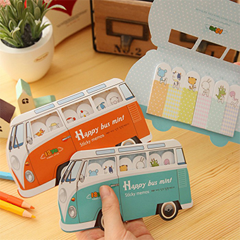 Wholesale Portable School Sticky Truck Car Shape Note Pad