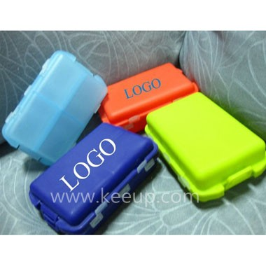 4 Case Push Button Pill Box