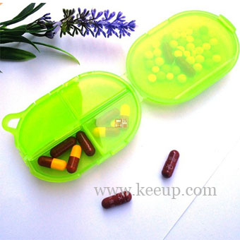 Plastic Pillbox for Promotion