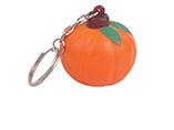 Custom PU vegetables stress ball keychain for promo