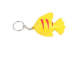 small fish PU stress ball keychain for promotion