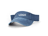 Custom traveling folding sun visor cap