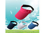 Summer outdoor sports sun visor cap for promotion