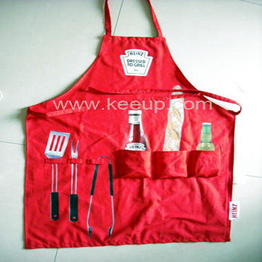 China Red Apron for Promotion