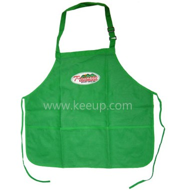 Apron with adjustable strap