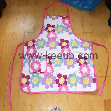 Custom Kitchen Apron With Front Pocket